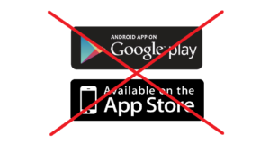 App should work on all platforms, not just on iPhone and Android!